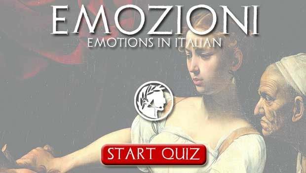 """Emozioni"" - Emotions in Italian. Podcast and QUIZ - Dante Learning"