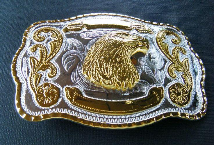 Belt Buckle Golden Eagles Cowboy Cowgirl American Western Belts Buckles #eagle #eaglehead #baldeagle #western #westernbeltbuckle #westernbuckle #beltbuckle
