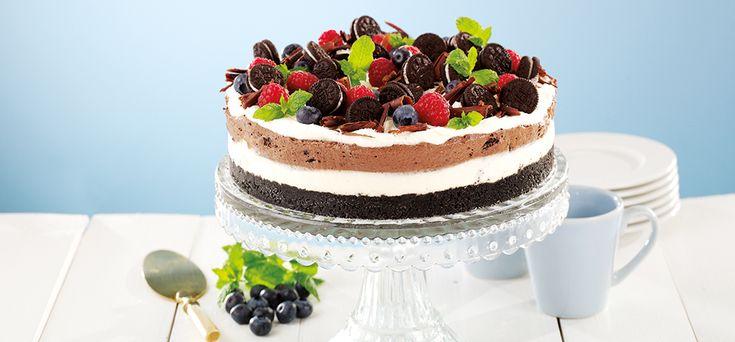 Philadelphia Oreo cheesecake