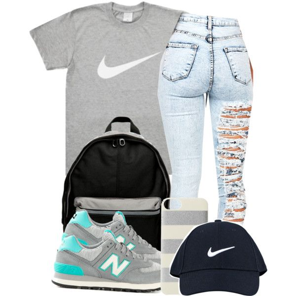 A fashion look from November 2014 featuring New Balance sneakers, NIKE backpacks and NIKE hats. Browse and shop related looks.