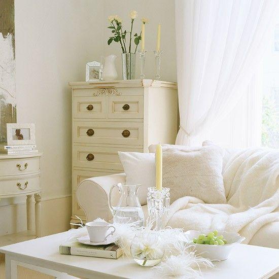 Cream and white living room | Living room ideas | Living room | PHOTO GALLERY | Ideal Home | Housetohome.co.uk