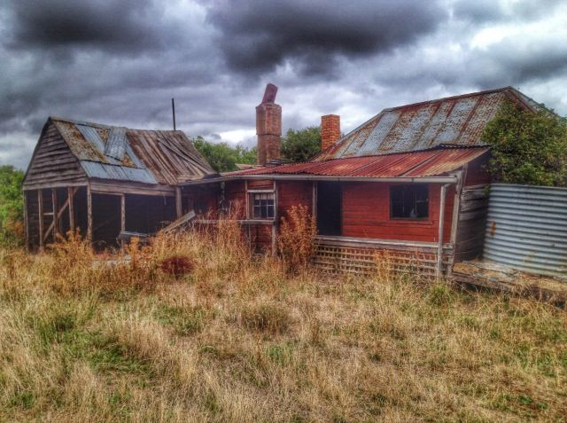 Love this abandoned settler shack in Tunbridge, Tasmania. Follow our hunt and rescue mission at http://www.facebook.com/NothingButVintage and http://nothingbutvintage.com.au
