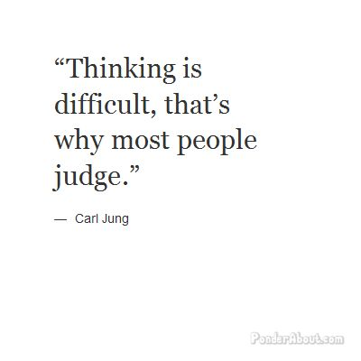 Jung, on thinking - introverts