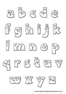 Letras del abecedario bonitas