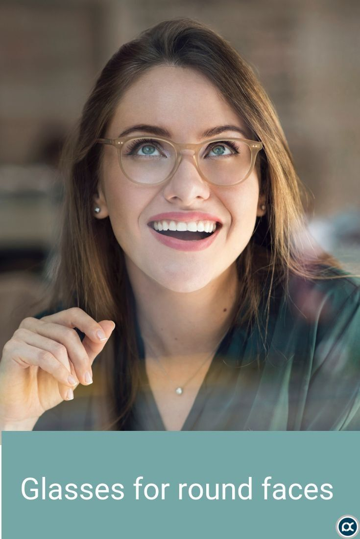 Aura in Matte Champagne  |  Eyeglasses For Women  |  EyeBuyDirect  |          Gl… – Glasses for round faces trendy