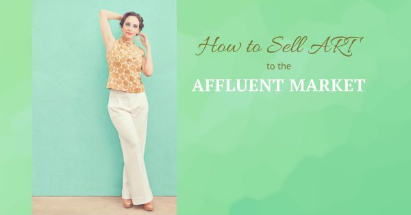 How to Sell Art to the Affluent Market- The affluent market consists of those U.S. households with an annual income of $100,000, or more. Affluent earners represent the top 20 percent of consumers. Since there roughly are 125 million US households, the affluent segment numbers constitutes around 25 million households. It is time to discover how to sell art to the affluent market.