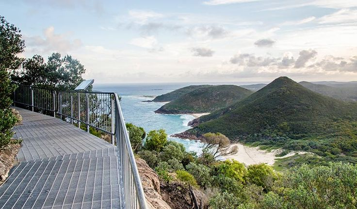 Take a guided tour along Tomaree Head Summit walk, absorbing views of Port Stephens and the north coast. When you reach the summit, unpack a picnic lunch by the lookout.