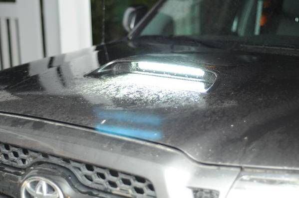 LED Hood Scoop Mod - Page 6 - Tacoma World Forums