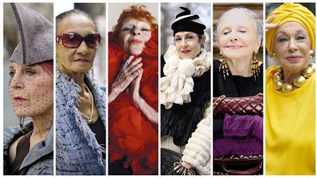 60歳以上のニューヨーカー女性7人が登場、ファッション哲学や人生観に迫る記録映画