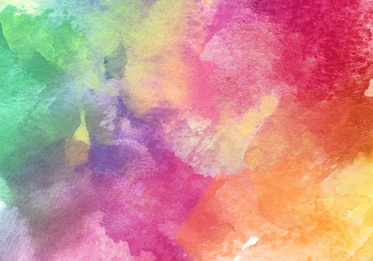 Abstract Colorful Watercolor Texture by Love-Kay ...