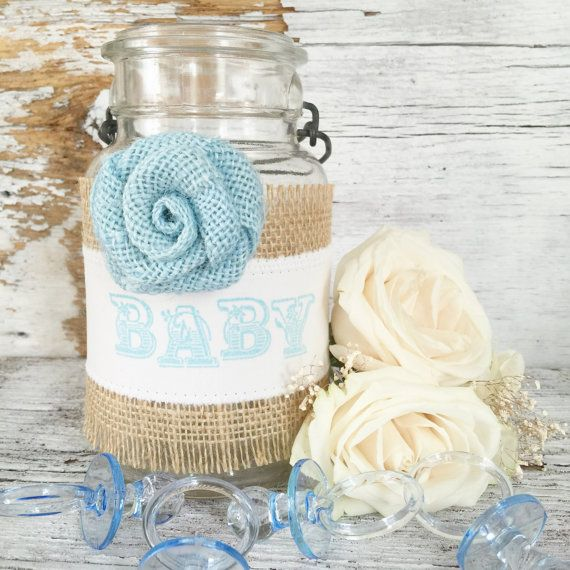 Baby Boy Baby Shower Ideas DIY Shabby Chic by DenaDanielleDesigns