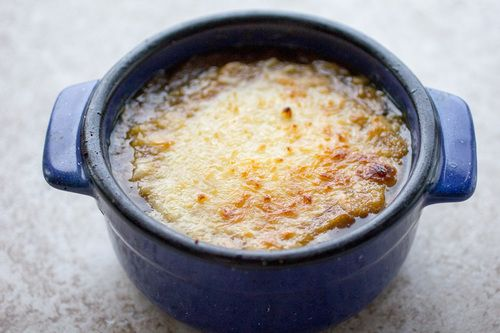 French onion soup is a classic soup recipe. Many people are intimated to make it at home, but it's easier to make than you think. Try this version of Copycat Panera French Onion Soup. After cooking the onions, add the rest of the ingredients and let