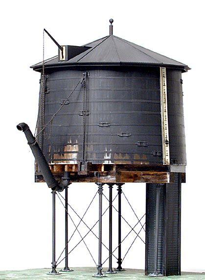 Water Tower Tank : Wooden water tank modeling stuff pinterest