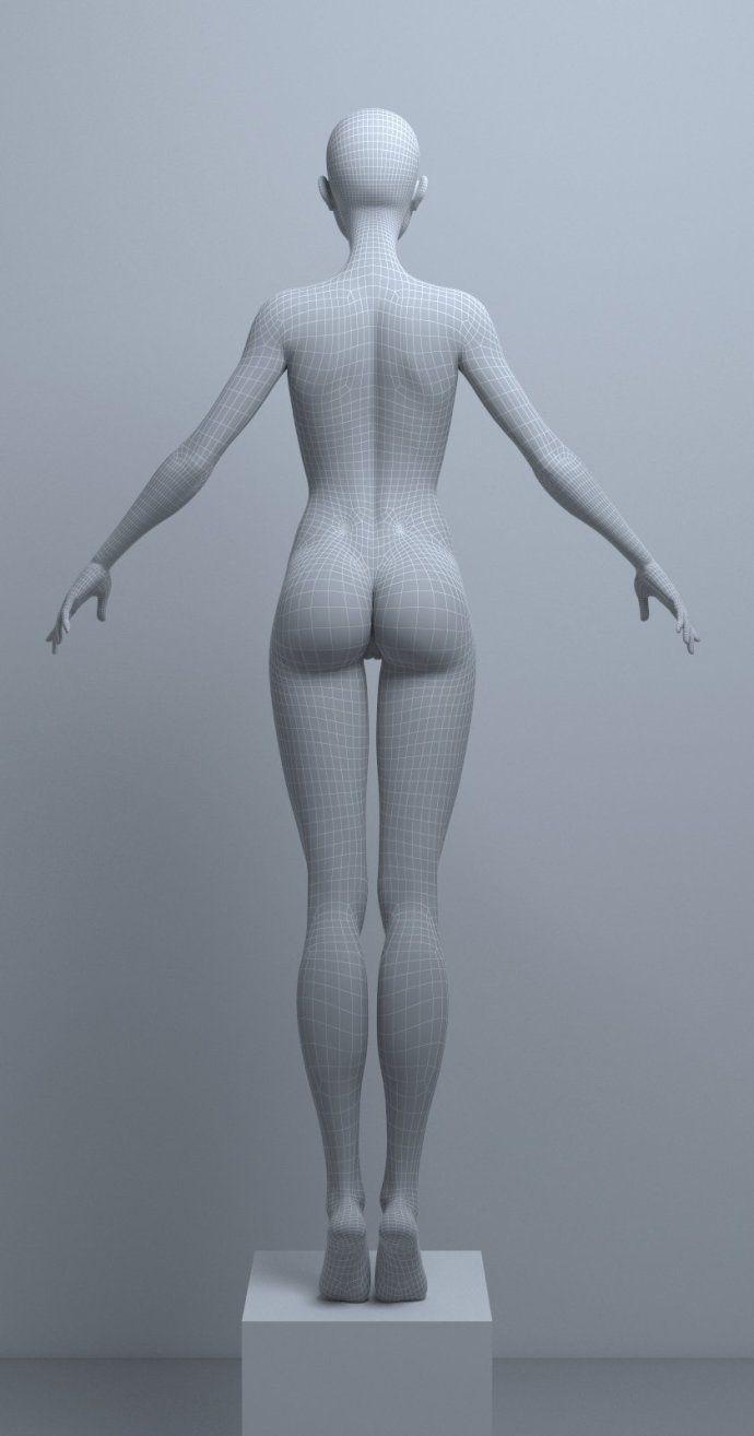 로마의 <WBR> Adamanov 미국 만화 3D 모델 자매