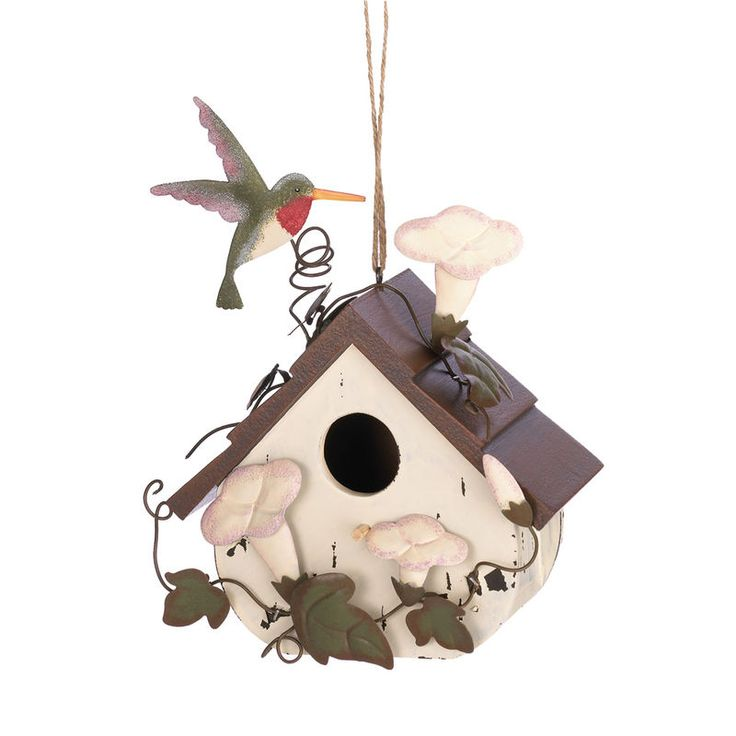 Morning Glory Birdhouse. ECA LISTING BY Global-Living Online Retail, Lower Sackville, Nova Scotia, Canada