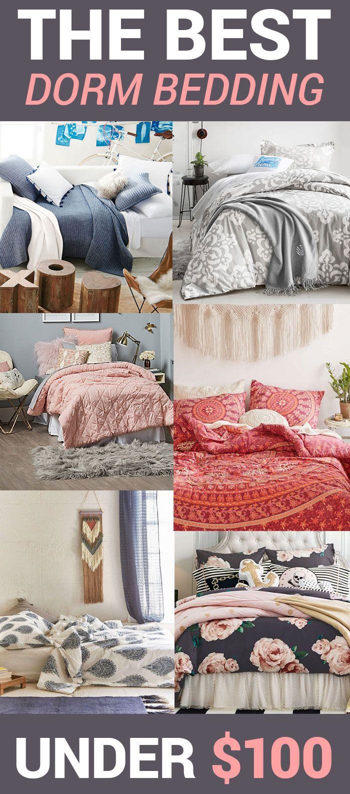 the best dorm bedding under 100