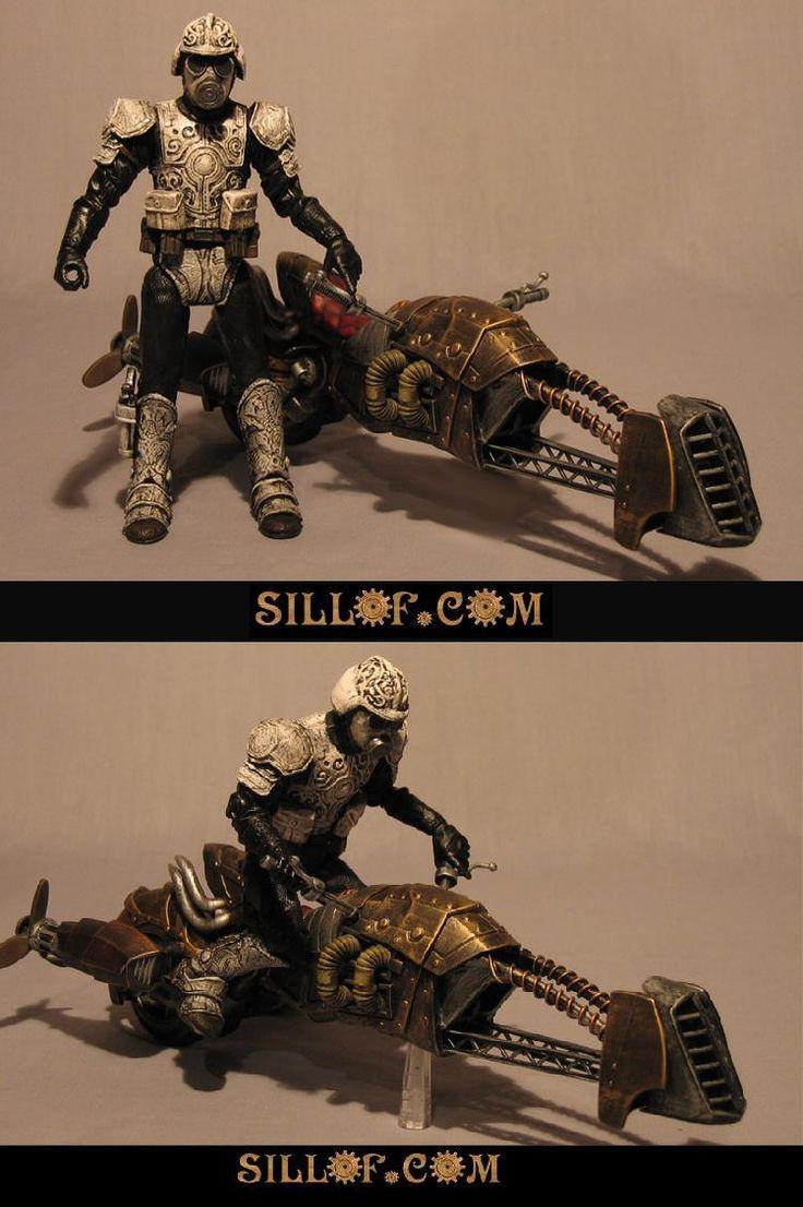 SILLOF's WORKSHOP: STEAM WARS Air Bike Shocktrooper