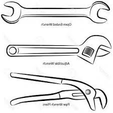 Image result for CLIPART black and white workshop tools ...