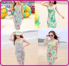 high quality full sexy beach dress cover up summer swim dress for lady girl