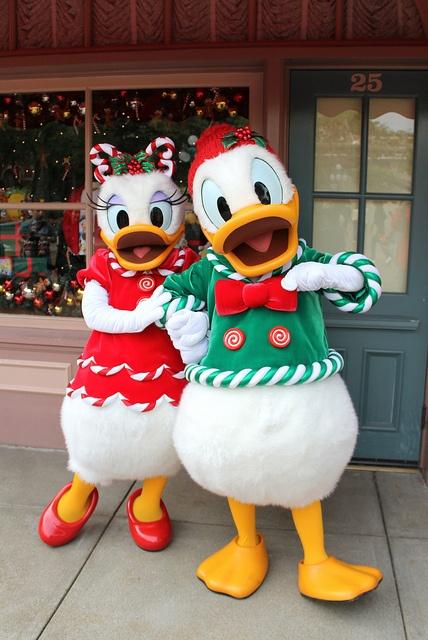Donald and Daisy!! Christmas