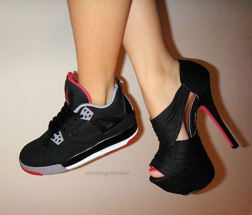 Jordans & High Heels