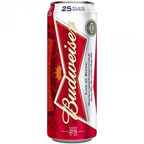 Budweiser Can. #Beer brands, #alcohol beer, beer #label. http://www.heritagehampers.com/wholesale-beverages/wholesale-beverages-beer/wholesale-beverages-beer-beer/budweiser-can