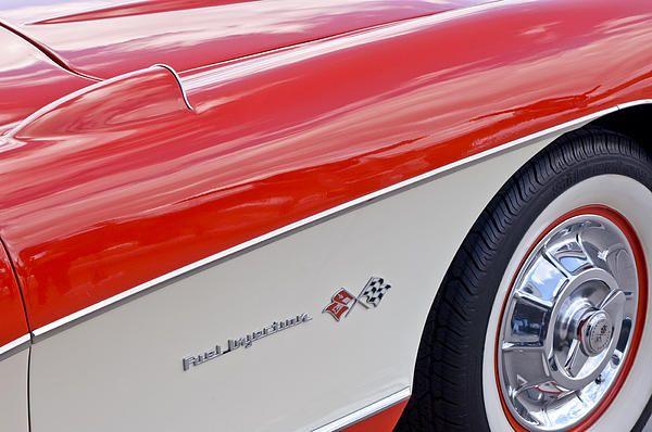 1957 Chevrolet Corvette Wheel Photograph by Jill Reger -