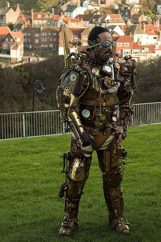 #steampunk borg? Or is it something else?