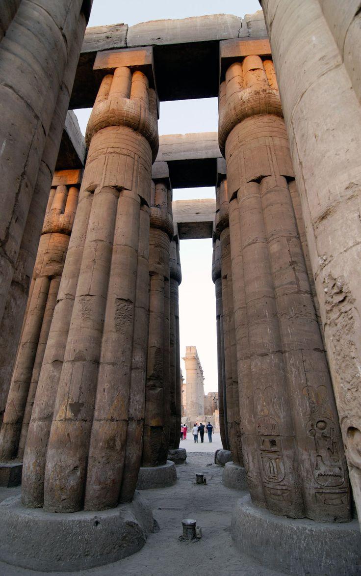 Karnac temple Luxor Egypt