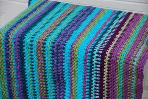 Temperature Blanket crocheted by Jeanne Steinhilber