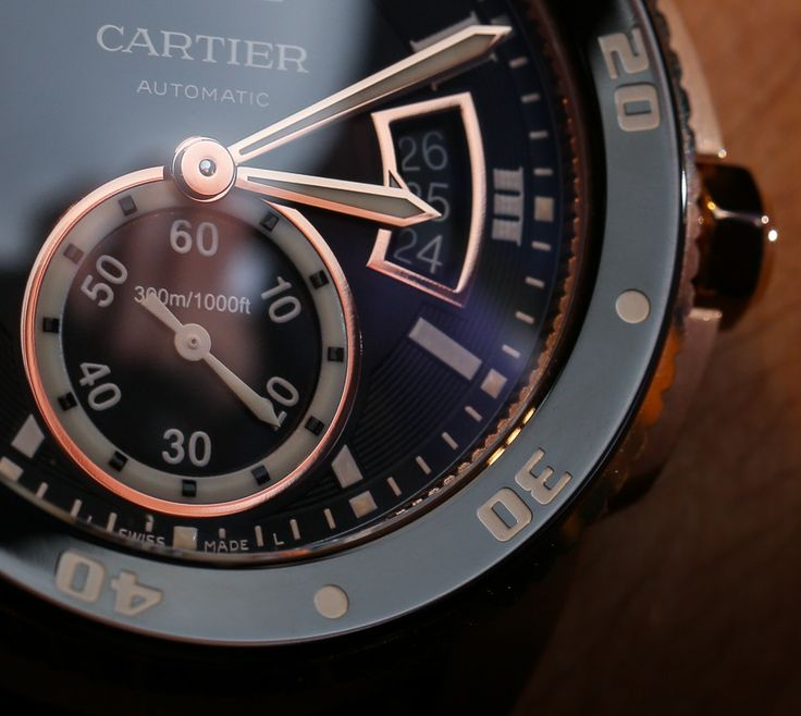 Cartier Calibre Diver Watch Hands On   hands on