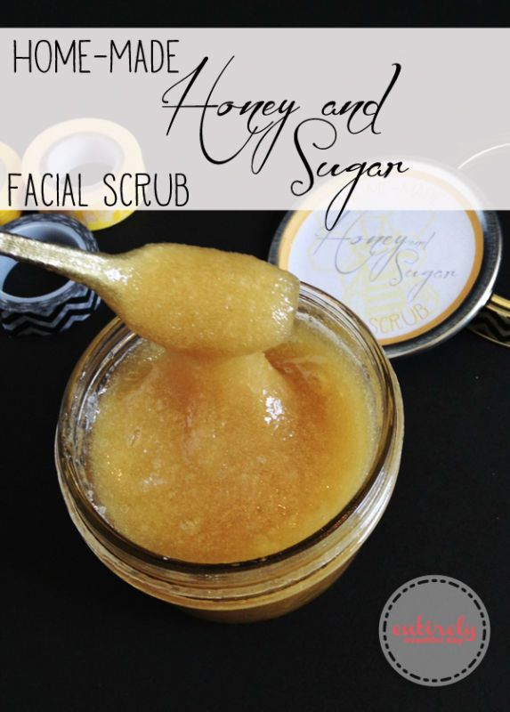 Facial scrub sugar recipe