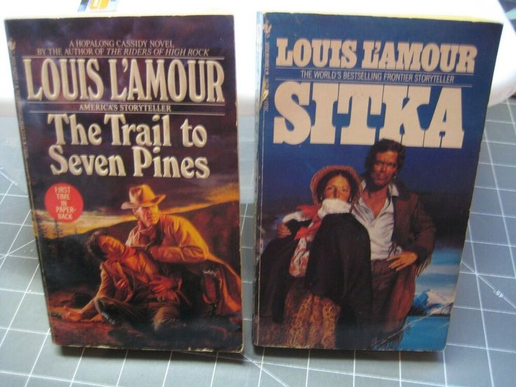 Details about louis lamour sitka and the trail to seven