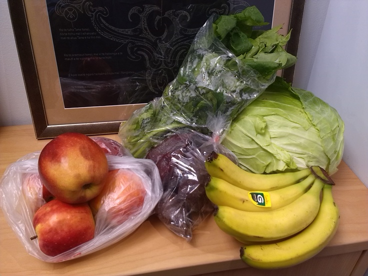 Fresh fruit & veg cheap as bargain from the Asian shop. Who said healthy Kai was expensive -$7 enough fruit for Whanau of four for a week :)