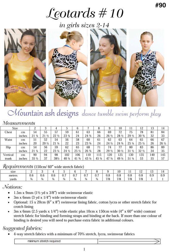 5f87567d7 quality 4fadd e5186 girls leotard pattern pdf ballet leotard pattern ...