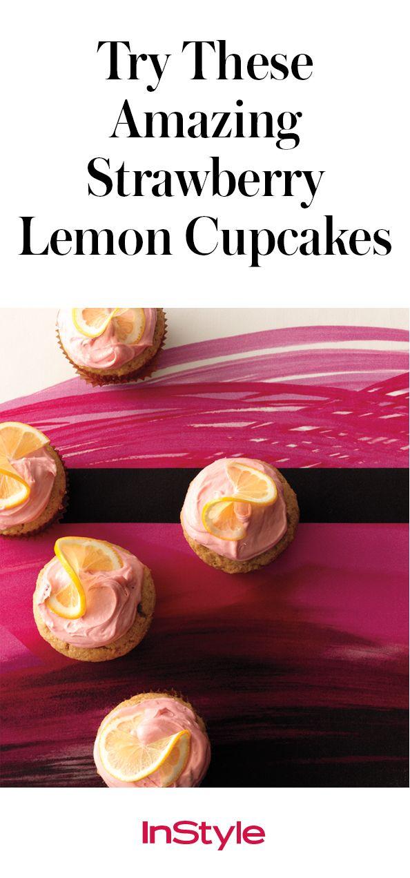 From Mom to Momofuku: Try Chef Christina Tosi's Strawberry Lemon Cupcakes