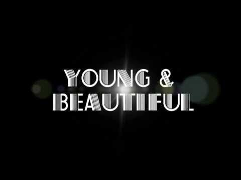 "Young and Beautiful - Lana Del Rey From the awesome ""Gatsby"" soundtrack. Listen to this song. again. and again."