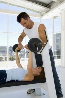Females and Pectoral Muscle Exercises