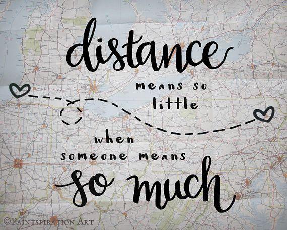 Lengthy Distance Relationship Reward Distance Means So Little Love Quote Reward – Lengthy Distance Household Reward