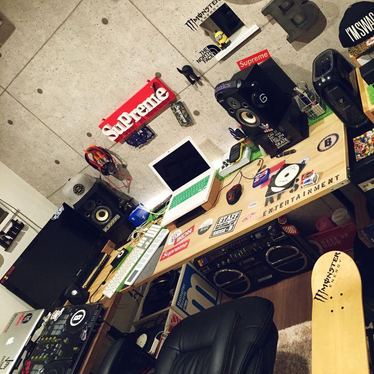 テーブル/DJブース/DJ部屋/音楽部屋/書斎/DJ BOOTH…などのインテリア実例 - 2016-03-04 23:39:27 | RoomClip(ルームクリップ)