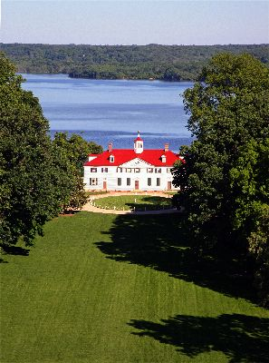 Mount Vernon - home of George Washington - Alexandria, VIRGINIA.  you really appreciate the man after visiting his home~