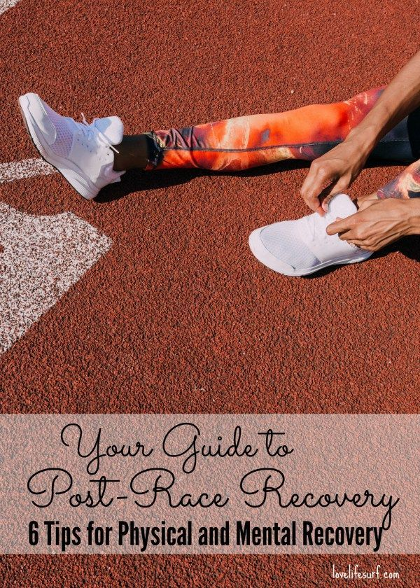 Crush your training cycle? Now it's time to crush your recovery. Here are 6 post-race recovery tips to help you rest and recharge physically and mentally.