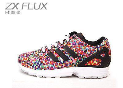 Adidas ZX Flux Multicolor - M19845 Ocean Cityscape Prism Multi color