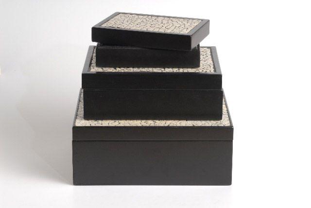 Ostrich Shell Mosaic box | Giftware | ASHANTI