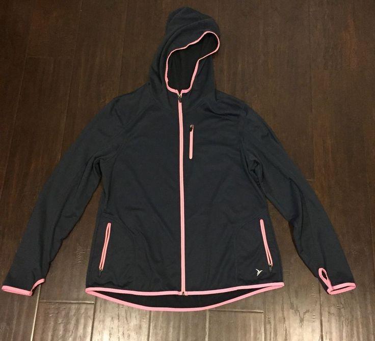 Old Navy womens athletic zip up jacket  | eBay