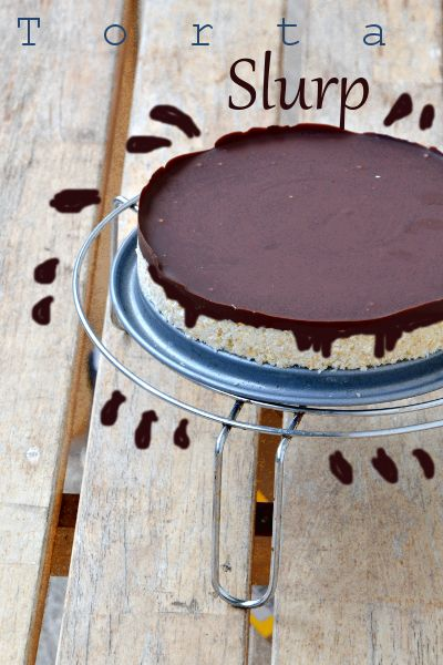 Torta Slurp (avena, cocco, cioccolato)