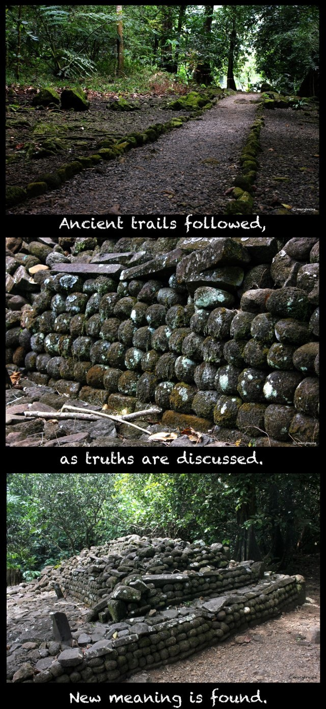 Trails discussion and new meaning