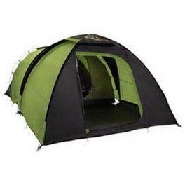 Famiglia in vacanza, campeggio o in giro per le montagne, ecco la tenda