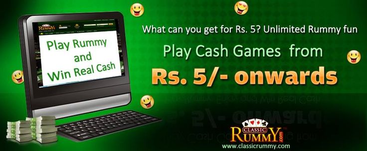 Play Rummy #online for just rs.5/- @ ClassicRummy  Get registered and have non-stop fun only at classic rummy with just rs.5/-. Hurry !!!  Play Rummy online for free @ https://www.classicrummy.com/play-rummy?link_name=CR-12