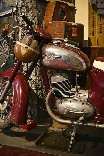 I HAD THIS! Jawa motorcycle by ryujim, via Flickr
